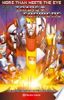 Libro de Transformers More Than Meets The Eye