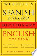Libro de Webster S Spanish English/english Spanish Dictionary
