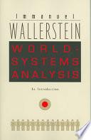 Libro de World Systems Analysis