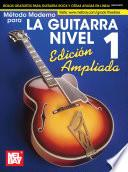 Libro de Modern Guitar Method Grade 1, Expanded Edition, Spanish