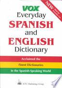 Libro de Vox Everyday Spanish And English Dictionary