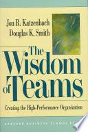 Libro de The Wisdom Of Teams