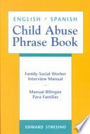 Libro de English/spanish Child Abuse Phrase Book