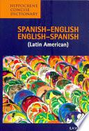 Libro de Spanish English   English Spanish Concise Dictionary (latin American)