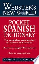 Libro de Webster S New World Pocket Spanish Dictionary