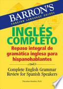 Libro de Complete English Grammar Review For Spanish Speakers