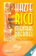Libro de Haste Rico Mientras Duermes/become Rich While You Sleep