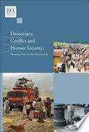 Libro de Democracy, Conflict And Human Security