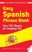 Libro de Easy Spanish Phrase Book New Edition
