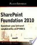 Libro de Sharepoint Foundation 2010
