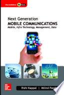 Libro de Next Generation Mobile Communications: Mobile, Infra Technology, Management, Data