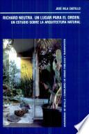 Libro de Richard Neutra