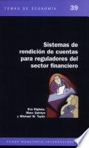 Libro de Accountability Arrangements For Financial Sector Regulators