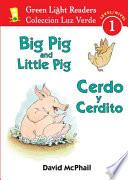 Libro de Big Pig And Little Pig