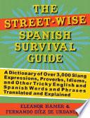 Libro de The Street Wise Spanish Survival Guide
