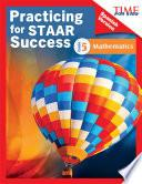 Libro de Time For Kids® Practicing For Staar Success: Mathematics: Grade 5 (spanish Version)