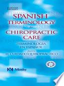 Libro de Spanish Terminology For Chiropractic Care