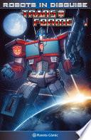 Libro de Transformers Robots In Disguise