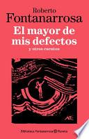Libro de El Mayor De Mis Defectos