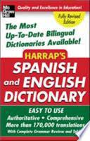 Libro de Harrap S Spanish And English Dictionary