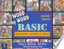 Libro de Word By Word Basic