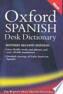 Libro de Oxford Spanish Desk Dictionary
