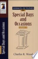 Libro de Special Days And Occasions