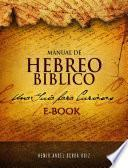 Libro de Manual De Hebreo Bíblico