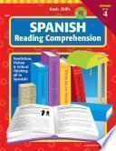 Libro de Basic Skills Spanish Reading Comprehension, Level 4, Grades 6   12