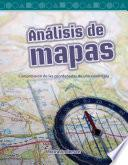 Libro de Análisis De Mapas (looking At Maps) (spanish Version)
