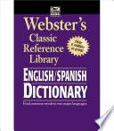 Libro de Webster S English/spanish Dictionary