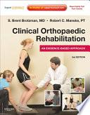Libro de Clinical Orthopaedic Rehabilitation