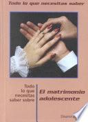 Libro de Teen Marriage, Ntk Spanish