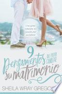 Libro de 9 Pensamientos Que Pueden Cambiar Su Matrimonio /nine Thoughts That Can Change Your Marriage