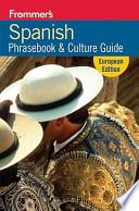 Libro de Frommer S Spanish Phrasebook And Travel Kit