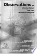 Libro de Observations On International Tourism Communications